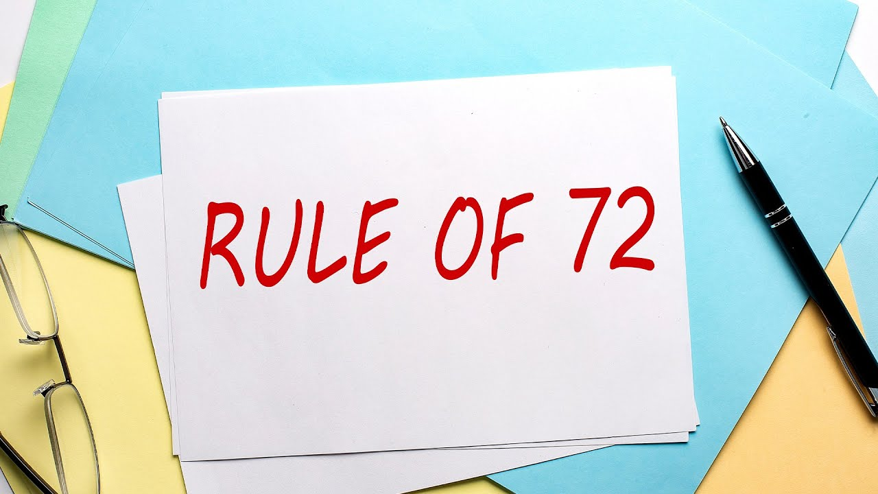 The Rule Of 72 Youtube