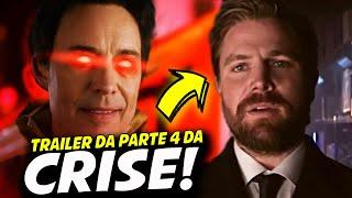 ARROW E FLASH REVERSO DE VOLTA! NOVO TRAILER DA CRISE!    The flash, Arrow, Supergirl, Batwoman