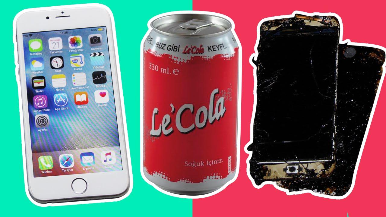 Çakma iPhone 6S'i Le Cola İle Kaynattık!
