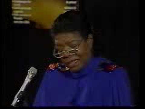 Maya Angelou, Pt 2/3 - YouTube