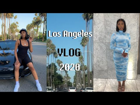 Weekend Trip To LA 🌴 During COVID-19| LA VLOG 2020 | Tosin T