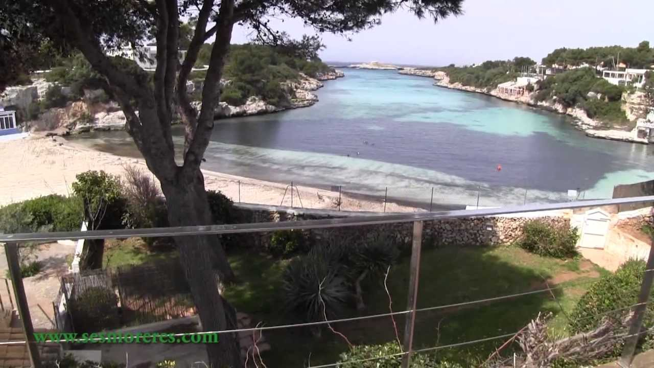 8d209ad3b004e Menorca  Chalet de lujo en primera línea de playa - YouTube