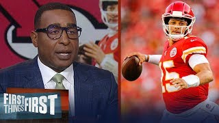 Andy Reid undersold us on Mahomes 'he's the real deal' — Cris Carter | NFL | FIRST THINGS FIRST