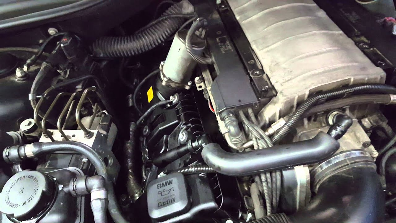 2004 Bmw 745i E62 Breather Pcv Engine Noise Youtube