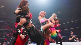 Hana Kimura, Stella Grey And Sumie Sakai Vs Jenny Rose And Oedo Tai  G1 Supercard