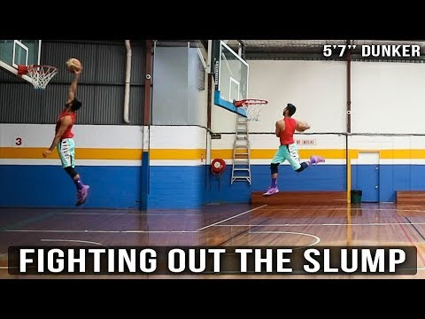 decent-jumps-&-low-rim-dunk-practice!- -5'7''-dunker- -road-to-my-first-dunk-ep.125