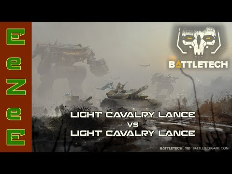 BattleTech: 2 Light Cavalry Lances Duke It Out