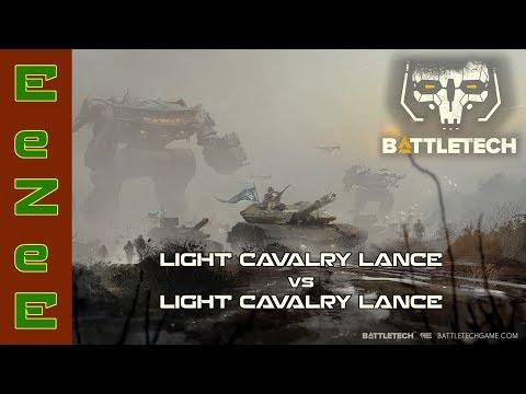 BattleTech: 2 Light Cavalry Lances Duke It Out
