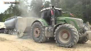 Tech-Project stabilizacja gruntu (drogi leśne - Bircza)