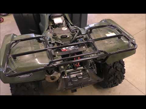 ATV Batteries Keeping Them Charged and to Jump Start Wiring How To By KVUSMC