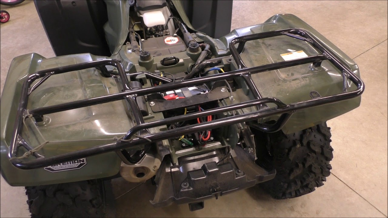 Atv Battery Wiring Diagrams Razor Scooter Diagram Batteries Keeping Them Charged And To Jump Start How Polaris 700