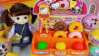 Baby doll Play doh food and food shop cooking toys play - ToyMong TV 토이몽