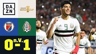 Zweifelhafter Elfmeter bringt El Tri ins Finale: Haiti - Mexiko 0:1 n.V. | Gold Cup | DAZN Highlight