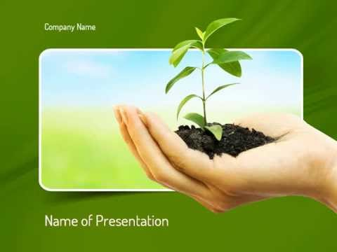 Environmental Conservation PowerPoint Template - YouTube