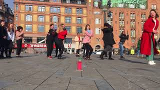 Kpop Random Dance Play at Raadhuspladsen, Copenhagen