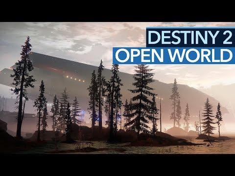 Destiny 2 - Was gibt's eigentlich in der Open World zu tun? (Gameplay)