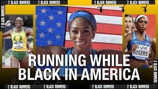 Running While Black in America Pt.3 | Raevyn Rogers | 2 BLACK RUNNERS