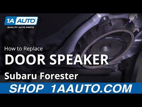 How to Replace Door Speaker 13-18 Subaru Forester