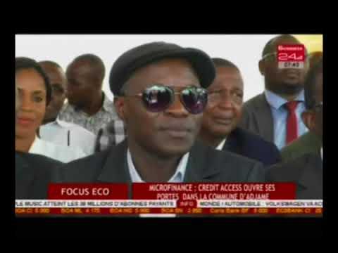 Business 24 / Focus Eco - Microfinance : Credit Access ouvre ses portes dans la commune d'Adjamé