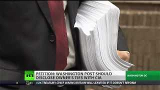 Over 30k petition Washington Post over Bezos-CIA relationship