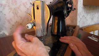 Основні регулювання швейної машини 2 М класу подільська