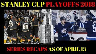 2018 NHL PLAYOFFS REVIEW April 13