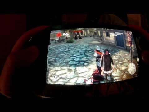 Assassin's Creed 2 PS Vita Remote Play.