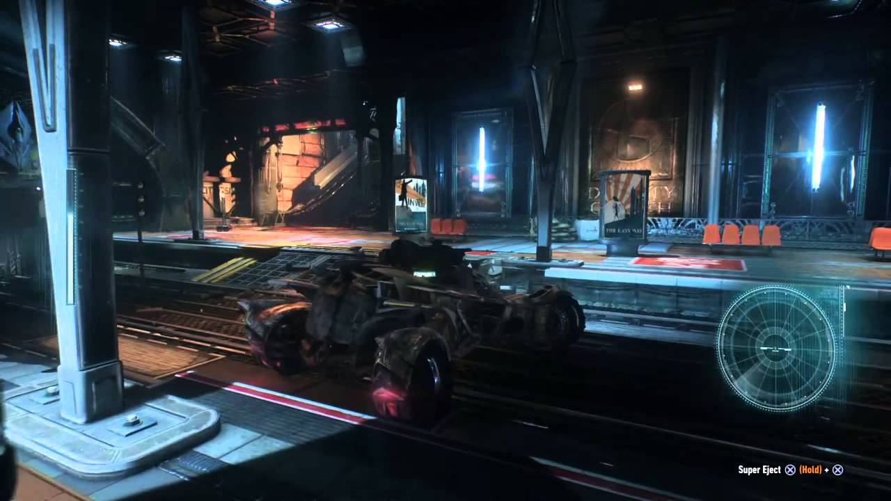 Arkham Knight Subway Map.Riddler Trophies In Subway Tunnel Batman Arkham Knight
