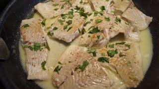 préparer filet de carrelet