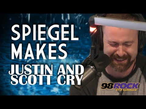 Spiegel Makes Justin and Scott Cry - With A Twist