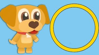 Learning Shapes - Learning For Kids | Educational Videos For Kids | Toddler Fun Learning