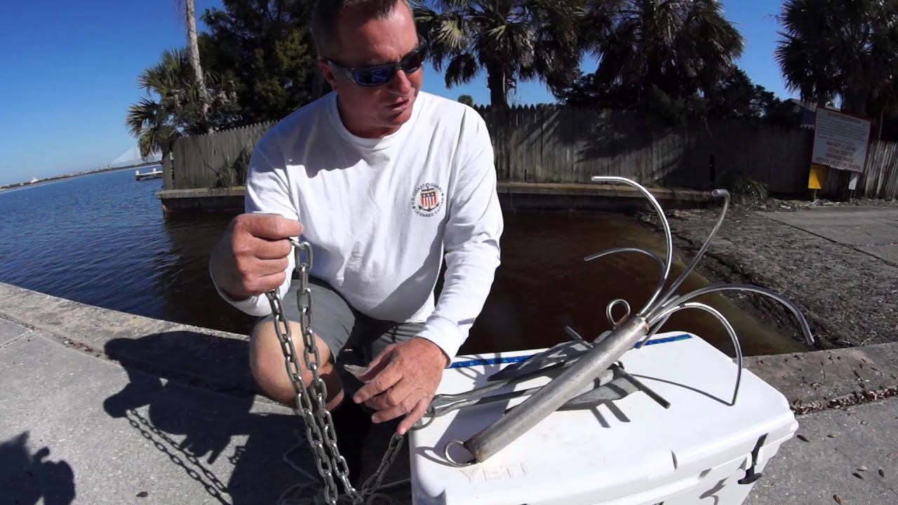 Anchors for the northeast florida area jacksonville for Florida 3 day fishing license