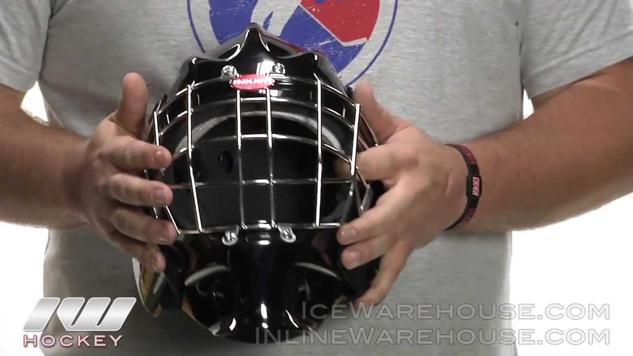 ab33b3bd25e Bauer Profile 940 Certified Goalie Mask Review - YouTube