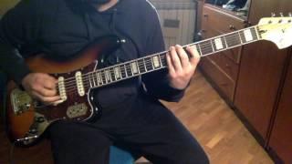 Squier VM Bass VI demo