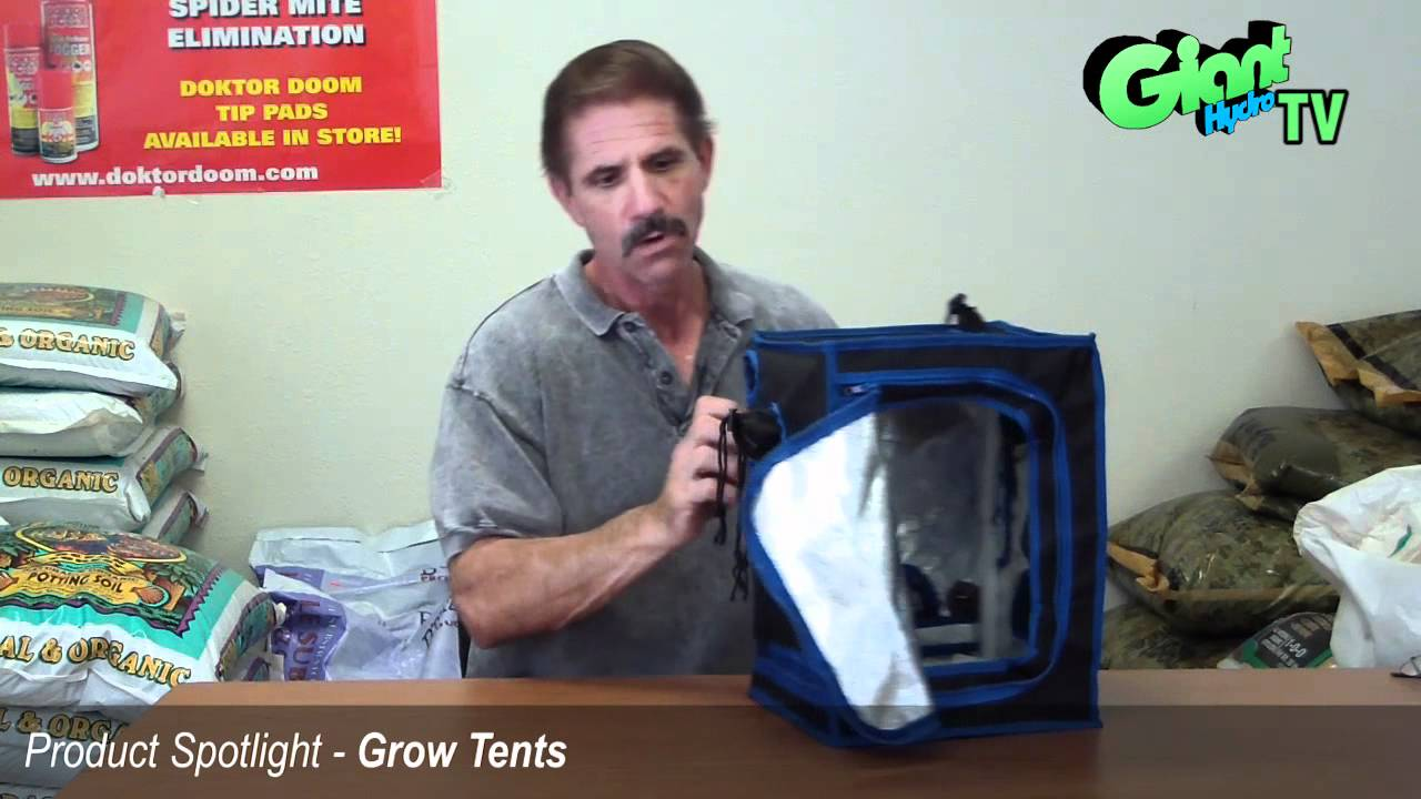 How Grow Tents Work and are setup  sc 1 st  YouTube & How Grow Tents Work and are setup - YouTube