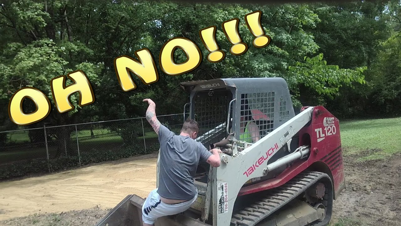 Skid Steer Fail Why So Funny Youtube