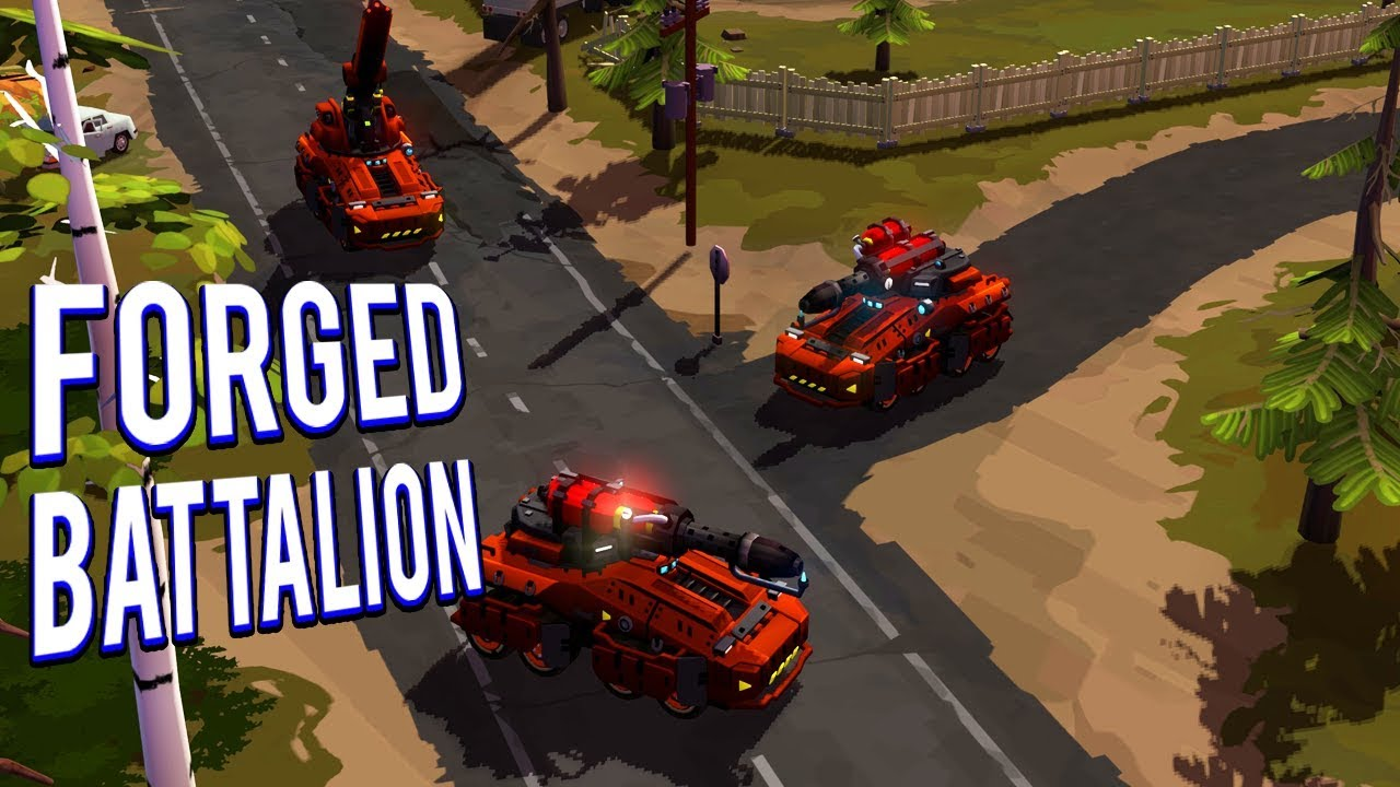 Download CREATING AN UNSTOPPABLE ARMY - FORGED BATTALION GAMEPLAY