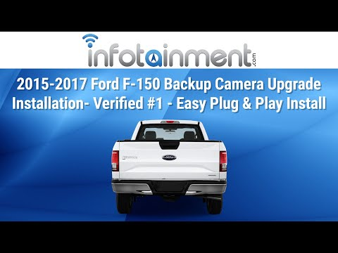 2015-2017 Ford F-150 Backup Camera Upgrade Installation- Verified #1 - Easy Plug & Play Install