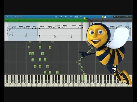 Полёт шмеля. Flight Of The Bumblebee. #Piano.