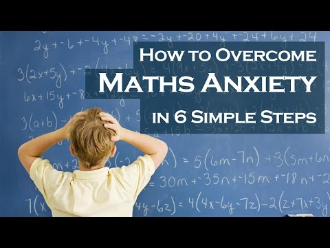 How to get over math test anxiety