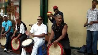 Martinique the city center of Fort de France