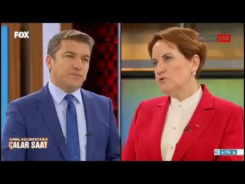 Meral Akşener Fox Tv'de canlı...