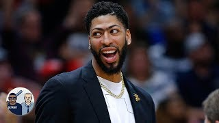 Anthony Davis' trade value won't decline after the NBA draft – Richard Jefferson | Jalen & Jacoby