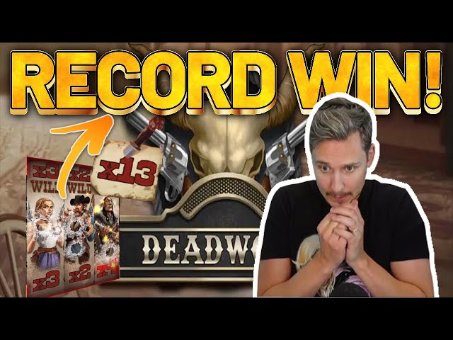 RECORD WIN! DeadWood BIG WIN - NEW Casino game from Nolimit City