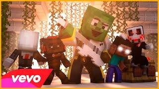 LA VOZ!! - Escuela de Monstruos #5   Minecraft Monster School
