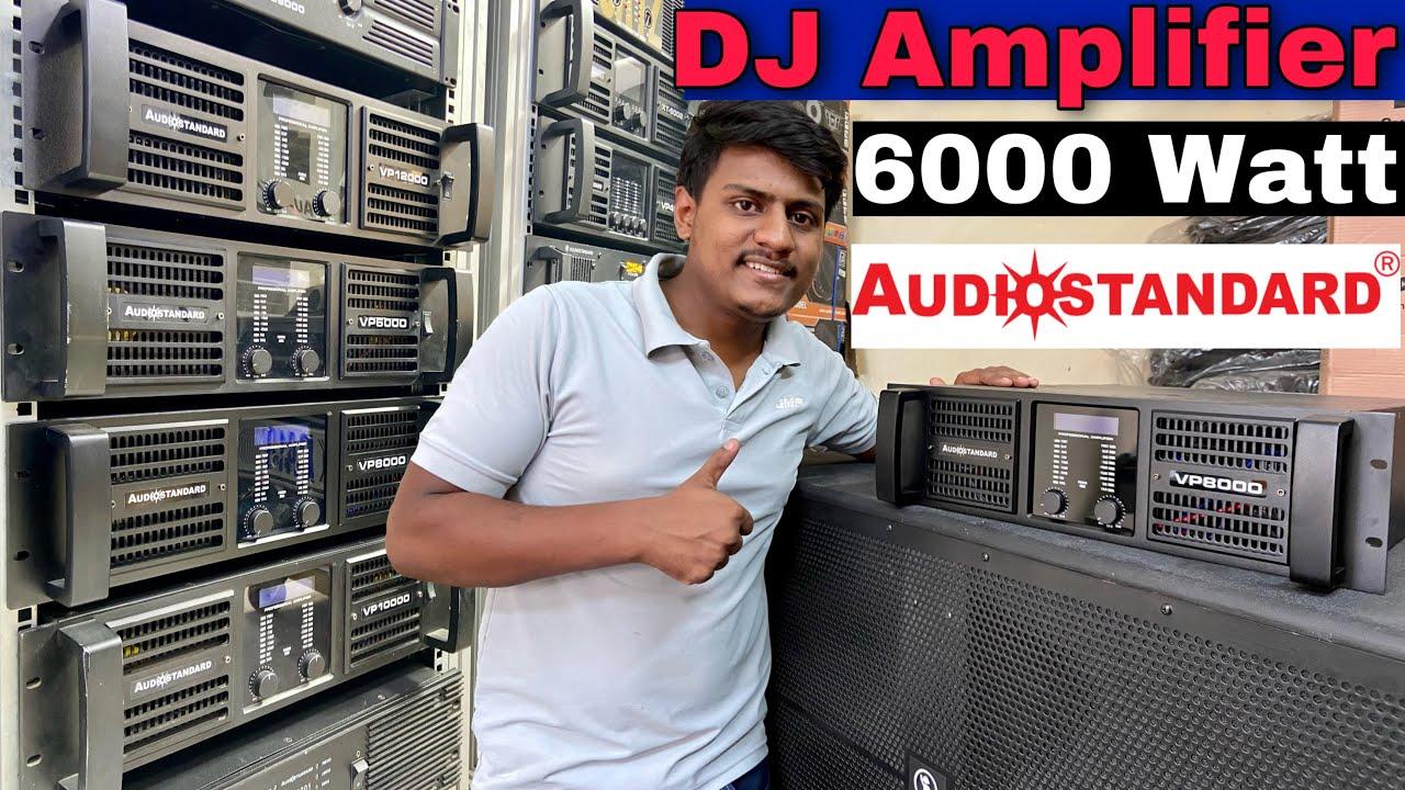 DJ Amplifier VP8000 AudioStandard Best For Bass Pressure 6000w काफ़ी डिमांड के बाद🔥
