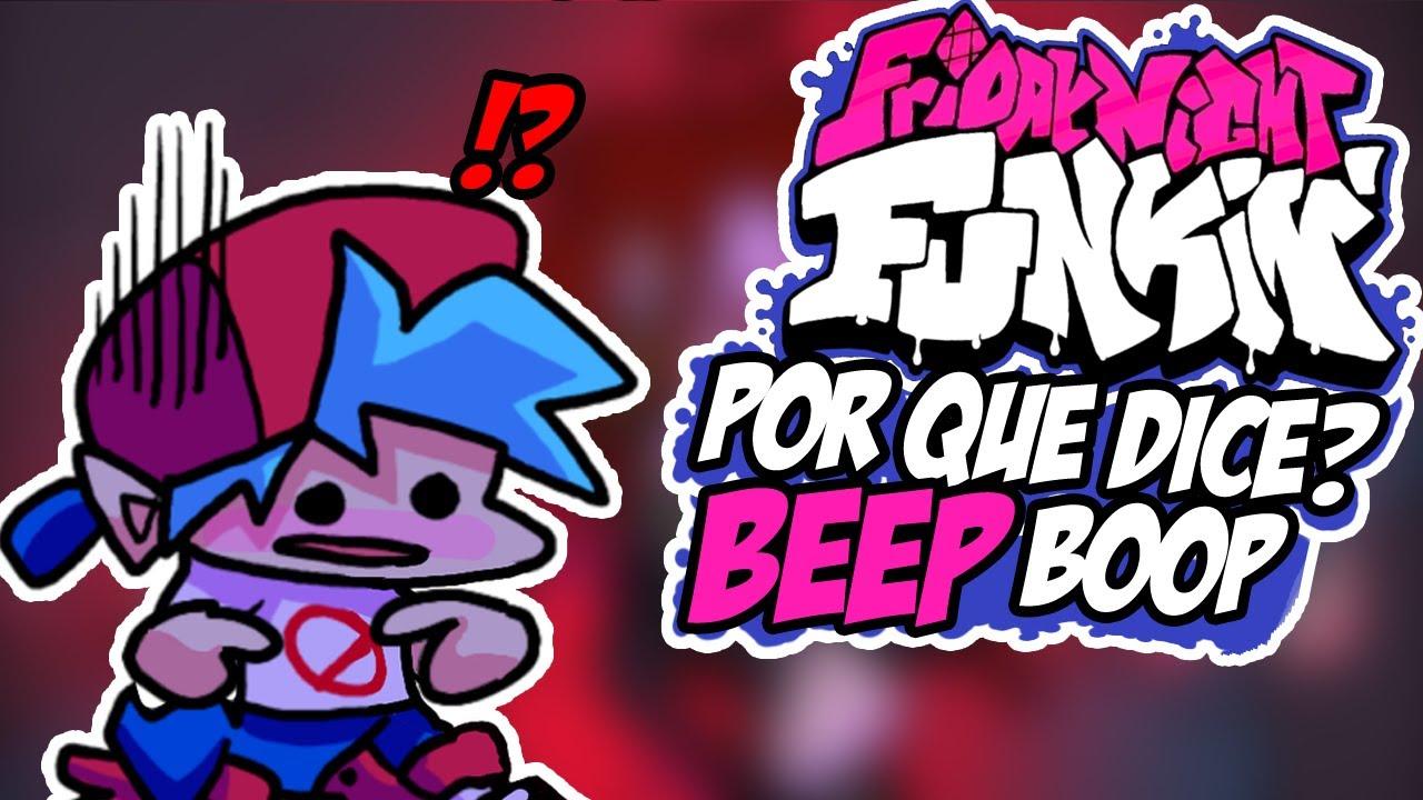 ¿Por qué Boyfriend solo Dice Beep Boop? - Friday Night Funkin'