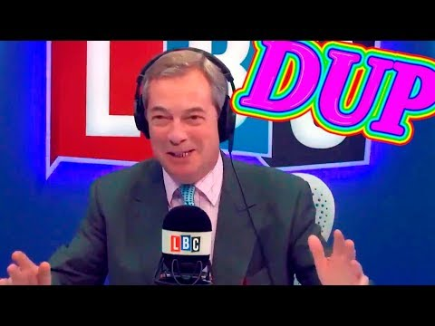 Nigel Farage about the DUP Saving Brexit