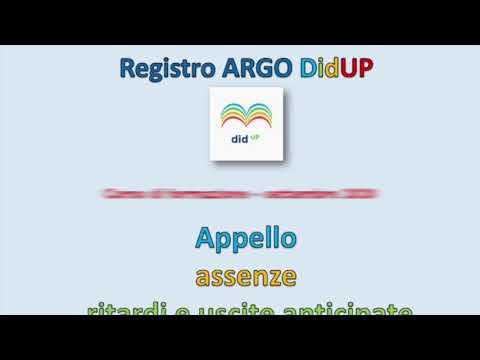 Argo DidUP 3 Appello - Ritardo e Uscita anticipata