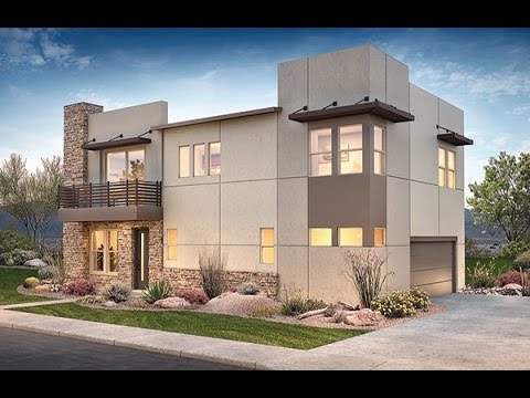 Modern living 24 north new home community north for Modern home builders phoenix